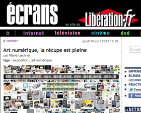 Collect the WWWorld su Libération