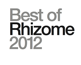 Best of Rhizome 2012, new book by Link Editions
