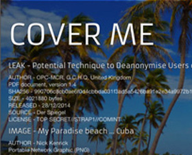 COVER ME – Documentation