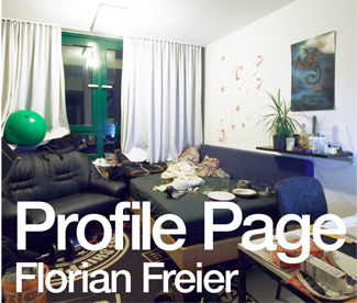 Link Editions: Profile Page by Florian Freier