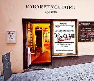 Dadaclub.online at Cabaret Voltaire